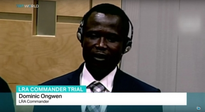 The legal issues involving Dominic Ongwen's Surrender