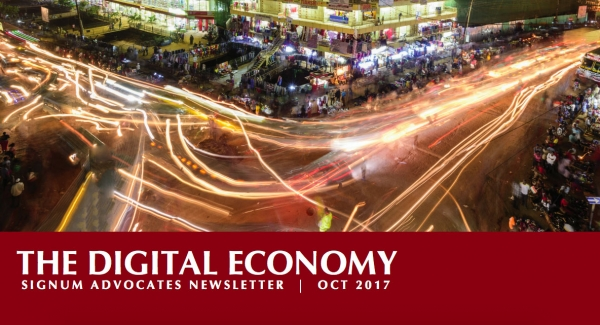 The Digital Economy - Signum Advocates Newsletter - Oct-2017