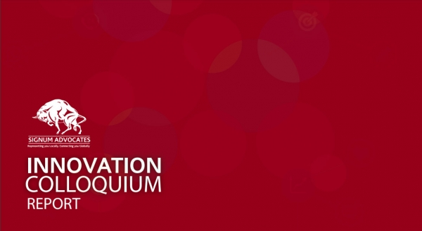 THE INNOVATION COLLOQUIUM REPORT (19th-20th October, 2017)