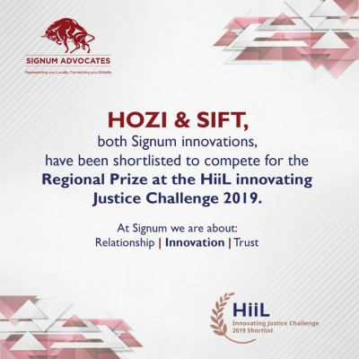 HOZI & SIFT, both Signum Innovations